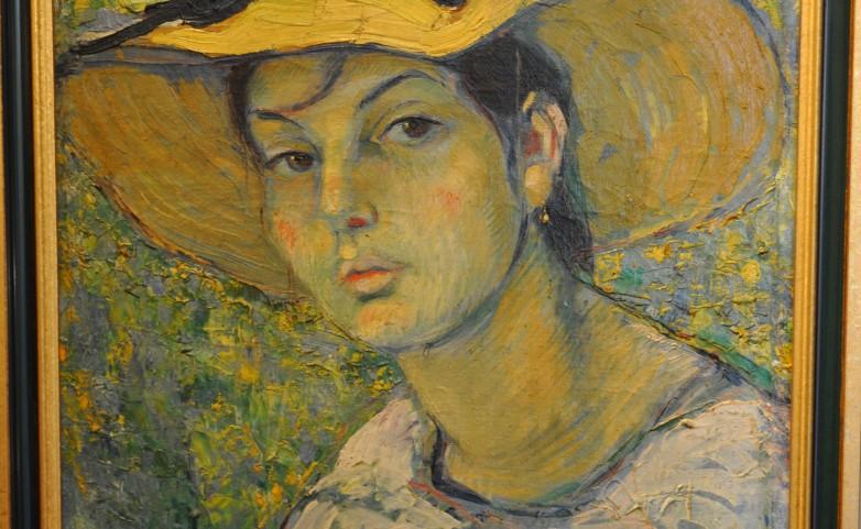 <span>LA DAME AU CHAPEAU:</span> PIERRE DE BELLAY&lt;br /&gt; 1890 - 1947 QUIMPER