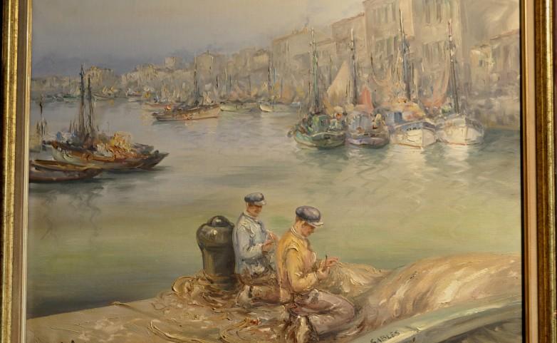 <span>PORT LES SABLES D'OLONNE:</span> AUGIZEAU GABRIEL&lt;br /&gt; 1894 NIEUL LE DOLENT - 1963 LES SABLES D'OLONNE