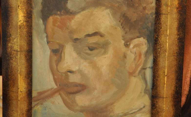 <span>autoportrait:</span> JEAN-FRANCOIS THOMAS&lt;br /&gt; 1894 - 1939 &lt;br /&gt; Guéméné Penfao