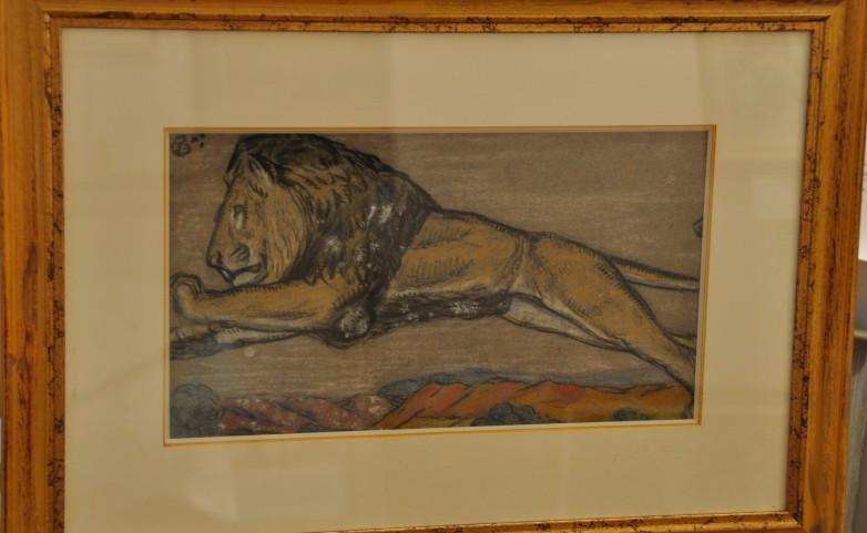 <span>LION:</span> PABLO TILLAC&lt;br /&gt; 1880 - 1969&lt;br /&gt; ANGOULEME &lt;br /&gt; PEINTRE CHARENTE